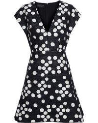 Giambattista Valli Polka Dot Dress - Lyst