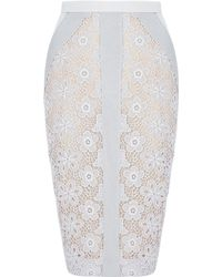 By Malene Birger Moreta Lace Skirt - Lyst