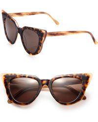 Illesteva Emmanuelle Cat'S-Eye Sunglasses - Lyst