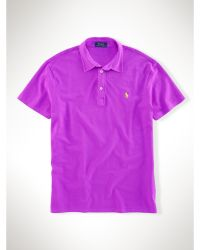 Polo Ralph Lauren Featherweight Mesh Polo Shirt - Lyst