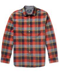 Grayers Plaidcheck Cotton Shirt - Lyst