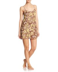 OndadeMar Wild Silk Short Dress multicolor - Lyst