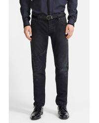 Dolce & Gabbana 'Gold 14' Slim Fit Distressed Denim Jeans - Lyst