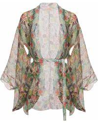 Lilliput & Felix - Wisteria Kimono In Secret Garden - Lyst