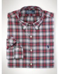 Polo Ralph Lauren Slim-fit Plaid Oxford - Lyst