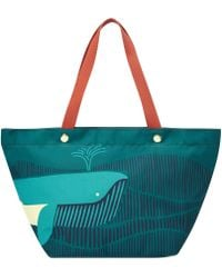Fossil Keyper East West Tote - Lyst
