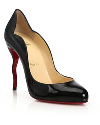 Christian Louboutin | Wawy Dolly Patent Leather Pumps | Lyst
