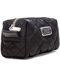 Marc By Marc Jacobs Crosby Quilted Narrow Cosmetic Bag - Lyst