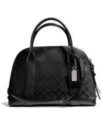 Coach Bleecker Preston Satchel in Signature Fabric - Lyst