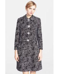 Oscar de la Renta Embroidered Tweed Jacket - Lyst