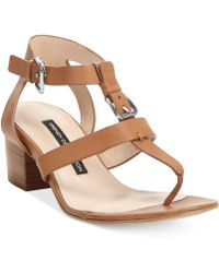 French Connection Larissa Thong Sandals - Lyst