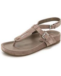 Belle By Sigerson Morrison April Suede Sandals - Lumia - Lyst