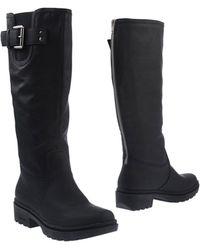 Geox Black Boots - Lyst