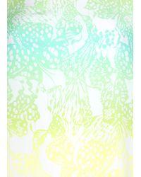 Matthew Williamson Wing Lace Silk Shift Dress - Lyst