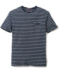 Apolis - Striped Pocket T-Shirt - Lyst