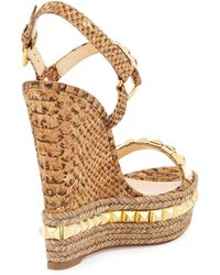 louboutin knock off - Shop Women's Christian Louboutin Wedges | Lyst