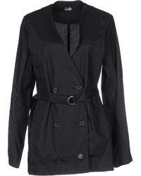 Cheap Monday Full-Length Jacket black - Lyst