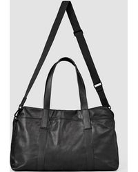 AllSaints - Boundary Leather Holdall Usa Usa - Lyst