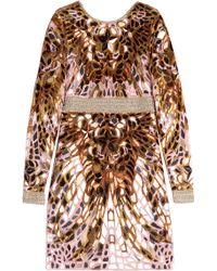 Emilio Pucci Embellished Dress - Lyst