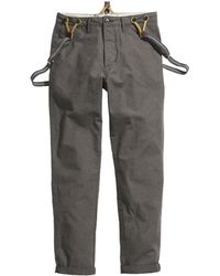 H&M Chinos with Braces - Lyst