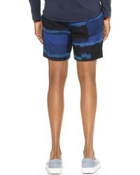 Marc By Marc Jacobs - Ikat Plaid Suiting Shorts - Lyst
