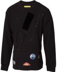 Raf Simons Double Layered Fathers Sweatshirt Black - Lyst