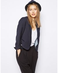 NW3 by Hobbs - Olly Blazer In Cropped Fit - Lyst