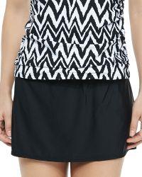 Athena A-Line Swim Skirt - Lyst