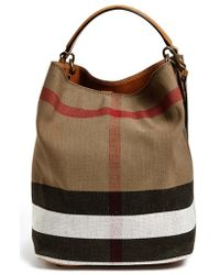 Burberry Brit - Burberry  tottenham - Medium  Tote - Lyst 6688cbb994