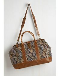 Nila Anthony - Revivals And Departures Weekend Bag In Multi - Lyst