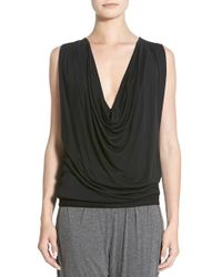 Apres Ramy Brook - 'jaylan' Drapey Open Back Top - Lyst
