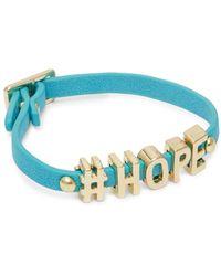 BCBGeneration - 'hope' Strap Bracelet - Lyst