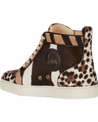 Christian Louboutin Haircalf Rantus Orlanto Sneakers - Lyst