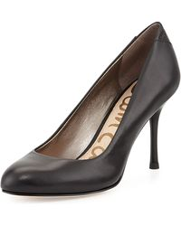 Sam Edelman Camdyn Leather Pump - Lyst