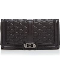Rebecca Minkoff Clutch - Bloomingdale'S Exclusive Love - Lyst