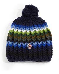 Moncler | Wool Knit Cap | Lyst