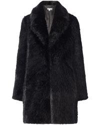 Whistles Kumiko Faux Fur Coat - Lyst