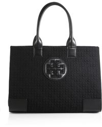 Tory Burch Ella Quilted-Nylon Tote - Lyst