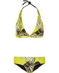 I.D Sarrieri - Convertible Printed Triangle Bikini - Lyst
