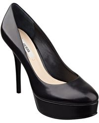 Guess Elsea Leather Pumps - Lyst