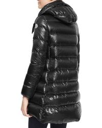 Moncler Hooded Zip Puffer Coat - Lyst