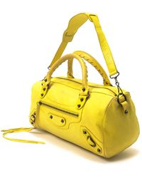 Balenciaga Tote Bag yellow - Lyst