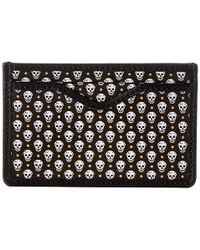 Alexander McQueen B Card Holder - Lyst