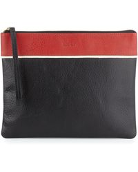 Hare + Hart - Papa Leather Pouch Bag - Lyst