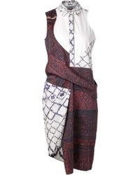 Prabal Gurung Side Sash Dress - Lyst