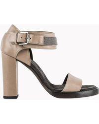 Brunello Cucinelli Sandals - Lyst