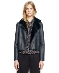 Tory Burch Caroline Reversible Jacket - Lyst