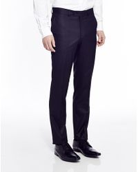 The Idle Man Suit Trousers In Skinny Fit - Black - Lyst