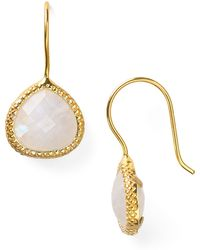 Coralia Leets - Braided Teardrop Earrings - Lyst