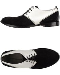 Costume National Lace-Up Shoes black - Lyst